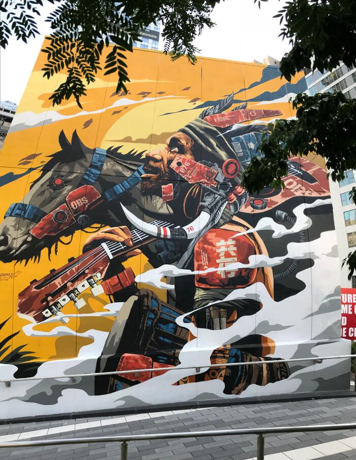 アートで街を活性化、ペインター・アーティスト DRAGON76 ...